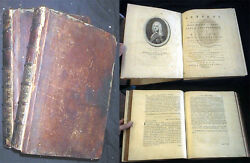 1774 Political Insight Diplomacy Stanhope Letters 2 Volumes With Portrait