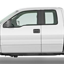 For Ford F-150 Ext Cab 2009-2014 Painted Body Side Moldings Fe2-f15009-sc