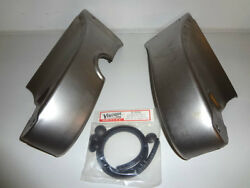 Ford Frame Horn Cover / Apron Set With Rubber Channel And Plug Kit 32 1932