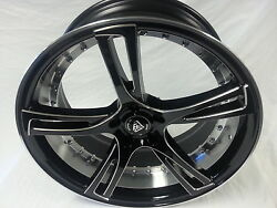 20x9 20x10.5 Staggered Wheel Rims And Tires Two Piece Look Fit Charger New Product