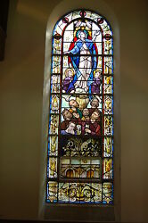 +Antique Stained Glass Window +
