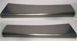 Plymouth Steel Running Board Set 35 1935 - Made In Usa 16 Gauge