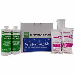 Swimming Pool Winterizing Chemical Treatment Closing Kit - Up To 20000 Gallons