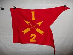 Flag442 Ww2 First Special Service Forces Guide On 1-2 Fssf Crossed Arrows Ir44a