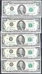 1969A $100 FRN-GEM-CLEVELAND-RARE=1 NOTE ONLY=$2000 BUT 5 PCS NOTES=$10000
