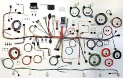 1987-1989 Ford Mustang Classic Update Wiring Harness Complete Kit 510547