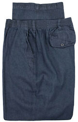 Big And Tall Menand039s Falcon Bay Casual Denim Pants Full Elastic Waist Sizes 44 - 66