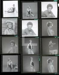 Sandy Duncan Contact Sheet 11x14 PRINT PHOTO Embossed By Harry Langdon HA32