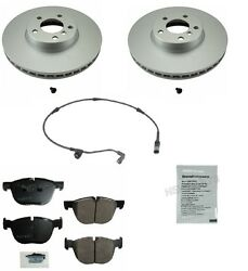 For Bmw E70 X5 07-14 Front Disc Brake Pad Wear Sensor Rotors Squeal Paste Oem