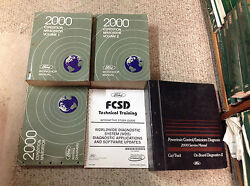 2000 FORD EXPEDITION & LINCOLN NAVIGATOR Service Shop Manual Set W PCED + Lots