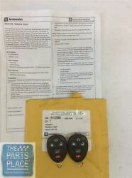 2007-14 Gm Cars And Trucks Remote Keyless Entry Remote Start Kit Gm 19172580