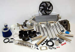 1991-1998 240sx For Ka24 Ka24de Cast T3t4 Turbo Kit More Power Than Sr20 400hp