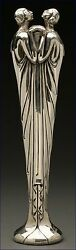 Flora II (Silvered Bronze) Limited Edition Sculpture Erte
