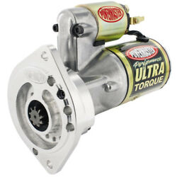 Powermaster Starter 9404 Ultra Torque Gold Iridite 2-hole For Ford 289/302/351w