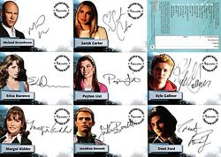 Smallville Season 4 Autograph Set 9