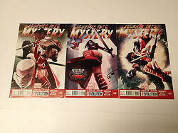Journey Into Mystery Lot Of 3 Issues 647,649,650 Marvel Comics 2013 Vf Thor Sif