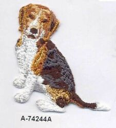 Beagle Dog Breed Embroidery Patch