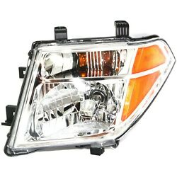 Headlight For 2005-2008 Nissan Frontier 2005-2007 Pathfinder Driver Side W/ Bulb