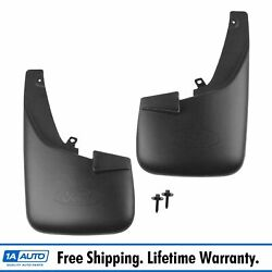 OEM BC3Z-16A550-GA Front Molded Splash Guard Pair Black for Ford F250 F350 New