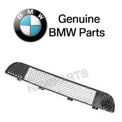 For Bmw E39 M5 Front Bumper Cover Grid Grille Mesh Genuine 51-11-2-496-285