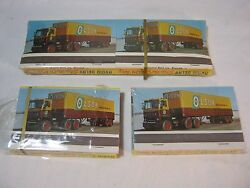 Olson Transportation Old Trucking Lot Of 8 Matchbooks Green Bay Wi  T