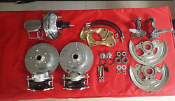 1962 -1967 Chevy Ii Nova Front And Rear Power Disc Brake Conversion Chrome