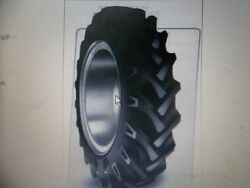 Two New 16.9x26 Ten Ply Tube Type Bkt Tr135  John Deere, Ford Tractor Tires