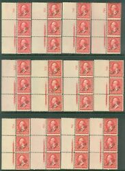 Puerto Rico 1899. Sc 210 Scarce Grouping Of Imprint Pl Strips Of 3 Cat 975