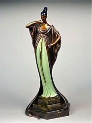 An Evening in 1922 (Bronze) Limited Edition Erte - MINT CONDITION with COA
