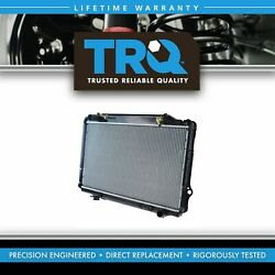 Trq Radiator Assembly Aluminum Core Direct Fit For Toyota Lexus Suv Truck