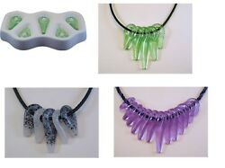 Awesome Tribal Beads Colour De Verre Glass Frit Casting Mold Fusing Supplies