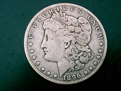 1896 O Morgan Silver Dollar Over 120 Years Old / Part Of United States History