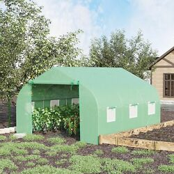 Greenhouse 12and039 X 10and039 X 7and039 Large Portable Walk-in Hot Green House Plant Gardening