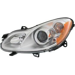 Headlight For 2010 2011 2012 Smart Fortwo Pure Model Left With Bulb
