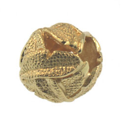 Authentic Trollbeads 18k Gold 21337 Angeland039s Feathers Gold 0