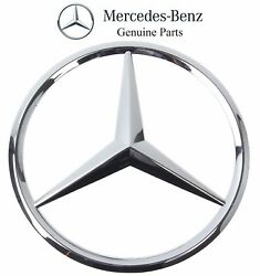 Mercedes r129 Grille Center Star emblem GENUINE logo insignia sl-class radiator