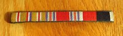 Wwii Custom Ribbon Bar Medal Rack Japanese Made Us Army Military Insignia Patch