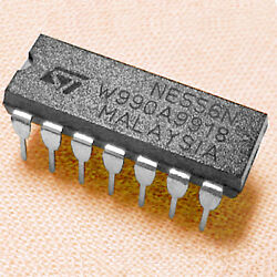 100 Ne556n Universal Dual Timer Ic For Very Stable Long Delays [ 556 / Lm556 ]