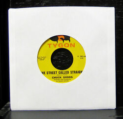 Chuck Dodds - The Street Called Straight Vg+ 7 Private Obscure Rock Tygon T 101