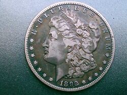 1892-s Morgan Silver Dollar Over 124 Years Old / Part Of United States History