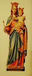 + Statue Of Mary + Our Lady Queen Of Heaven + From Italy + Chalice Co.