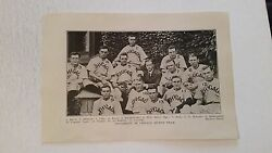 University Of Chicago Orient 1910 Baseball Team Picture Sp Very Rare