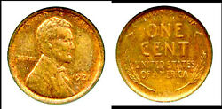 1921-s 1c- Lincoln Cent-98 Redand Pq