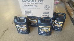 Genuine Case New Holland Agriculture Construction Coolant, Concentrate 4 Gallon