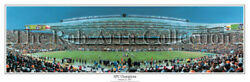 Chicago Bears Win Nfc Championship At Soldier Field Panoramic Poster 1057