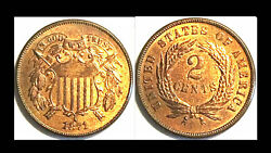1871 2candnbsptwo Cents