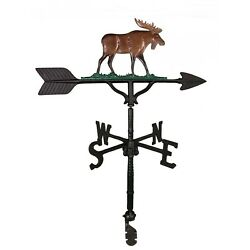 32 Roof Mount Weathervane Moose Lodge Cabin Arrow Directionals New 4 Finishes