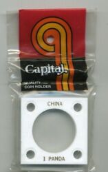 Capital Plastic 2x2 Coin Holders For China 1 Panda