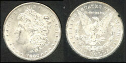 1880-cc 1-white And Frosty-morgan Dollar