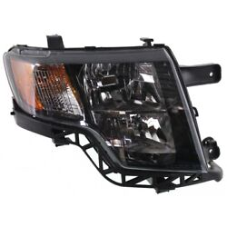 Headlight For 2009-2010 Ford Edge Sport Model Right With Bulb With Dark Bezel